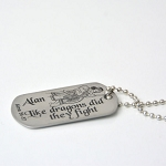 Personalized Sons of Helaman Like Dragons did they Fight Key Chain