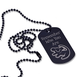 Personalized Lion King - Remember Who You Are Dog Tag