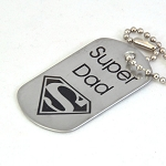 Super Dad  -  Dog Tag