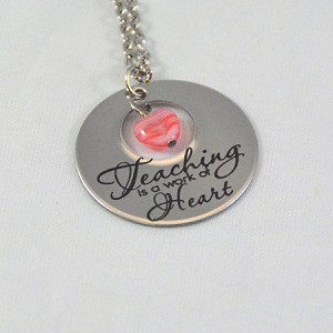 Teaching - A Work of Heart  - Necklace
