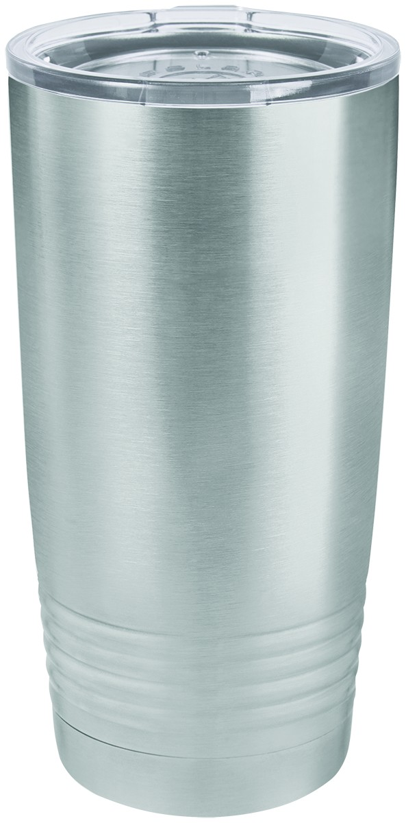 Personalized - 20 oz. Forever (HOT or COLD) Stainless Steel Double Wall Insulated Tumbler in 20 oz.