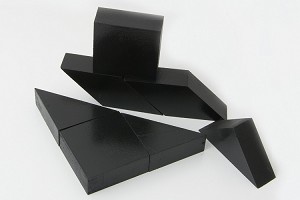Wooden Vision Blocks (20mm) Black